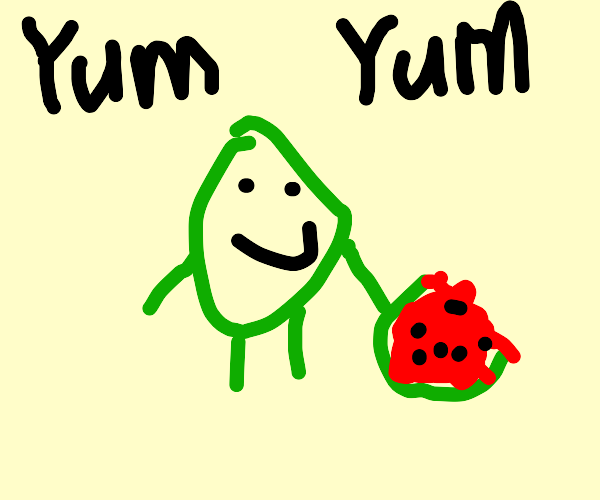 Watermelon cannibalism
