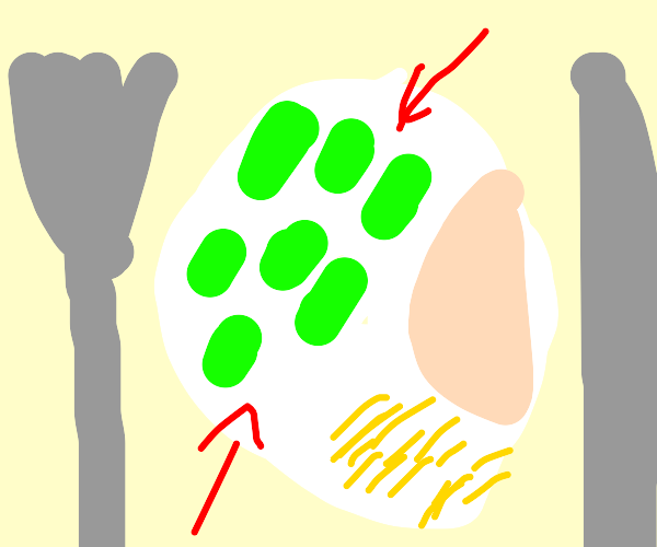 Lima beans, not peas or green beans