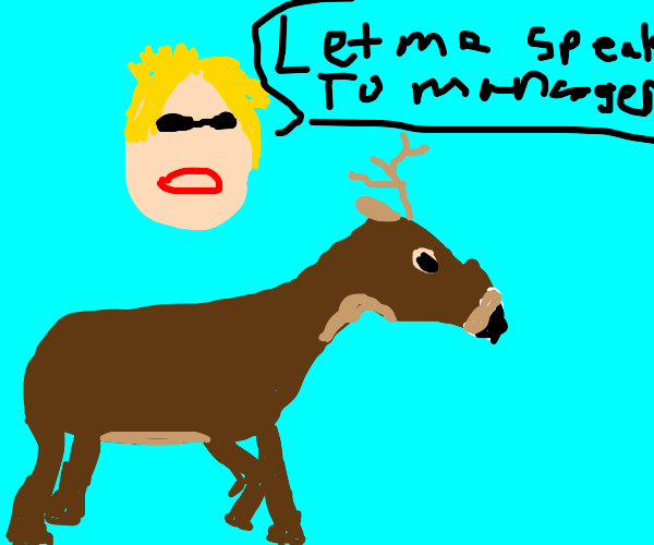 Karen thinks deers need to be extinct