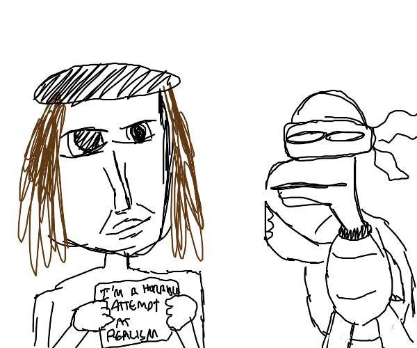 Raphael (Renaissance) and Raphael (Turtle)