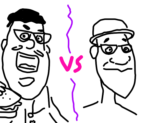 Grubhub guy vs. joe gardiner (from soul)