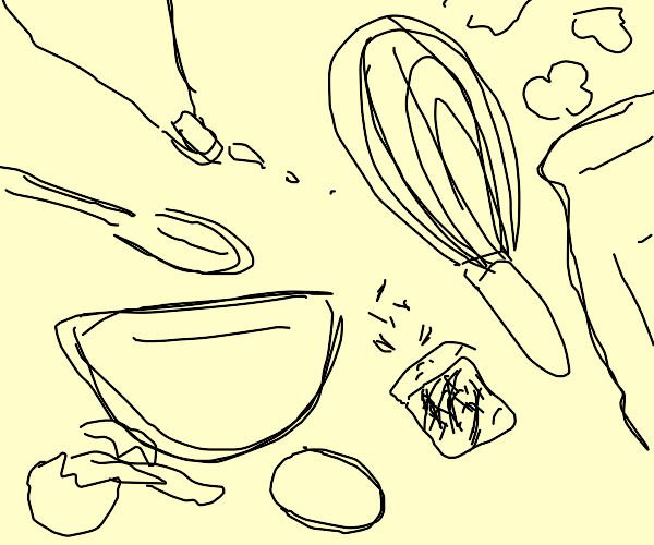 Assorted Pastry Chef Things