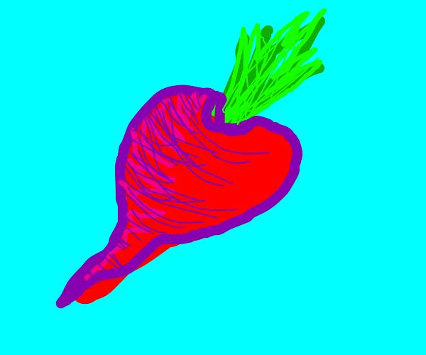 Beet, or radish.