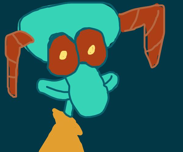 demon squidward