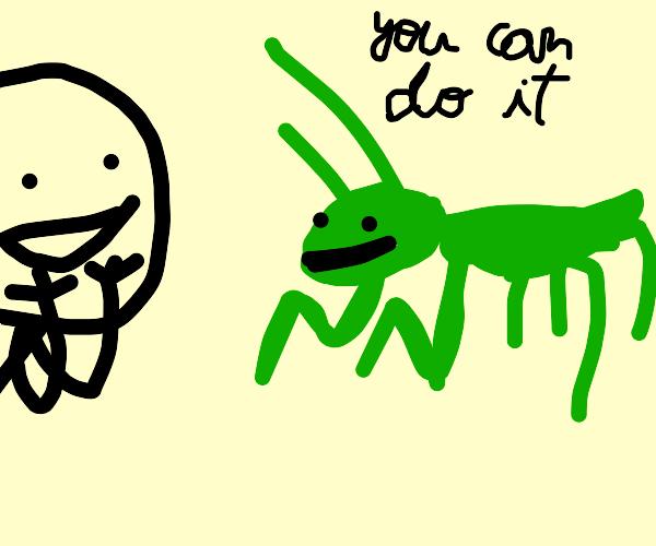 Inspirational Praying Mantis