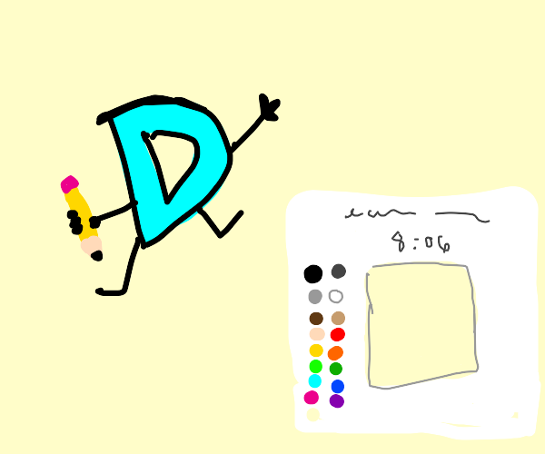 The drawception drawing page