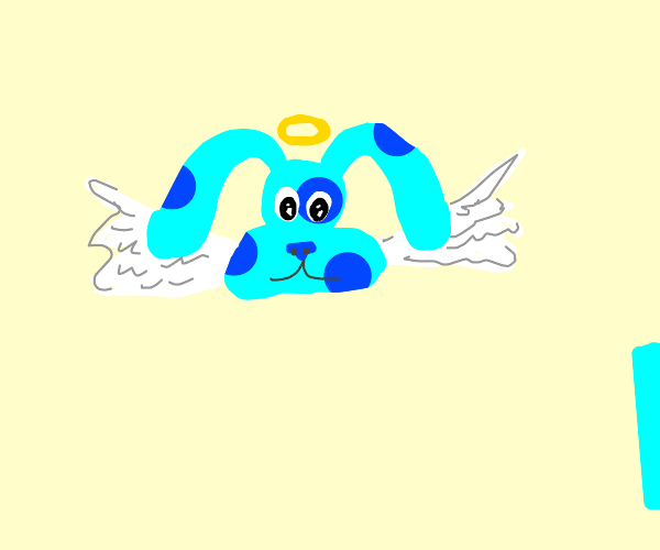 blues clues as an angel