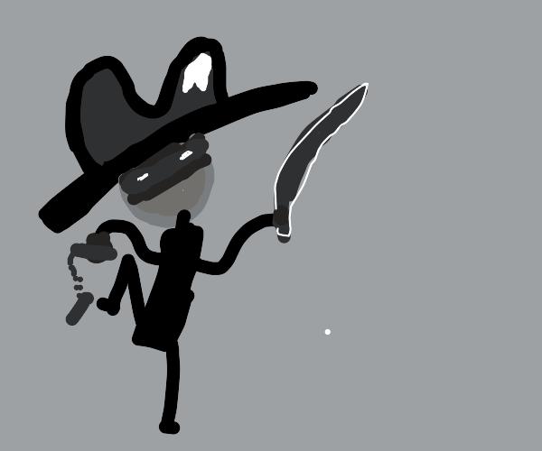 a cowboy samuri