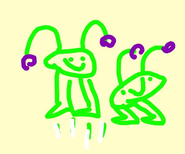 Alien Bouncing