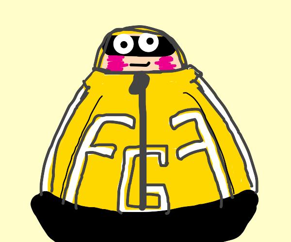 Fat Gum (MHA) blushing