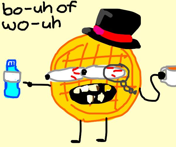 a bri ish waffle