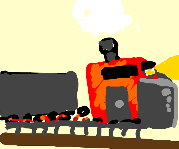 A Locomotive train