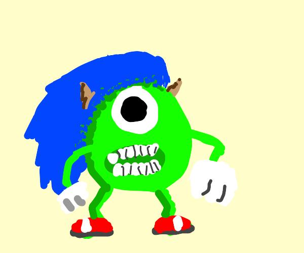 Mike Wazowski Sonic