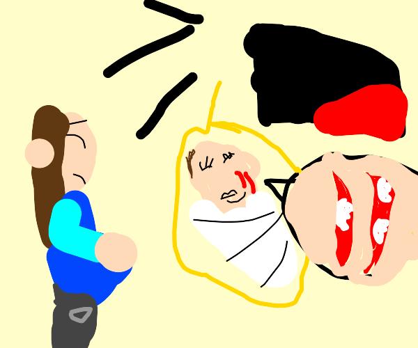 babies sacrificed to yellmo