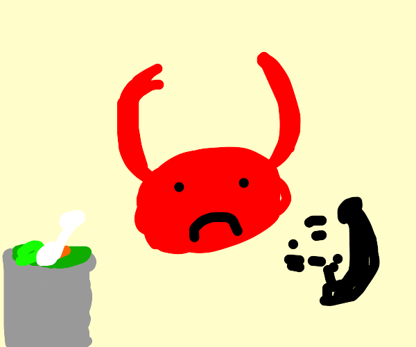 Devil getting trash talked