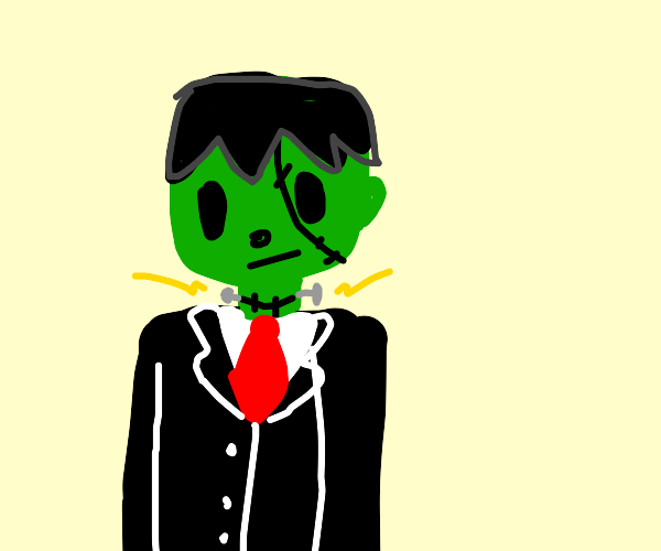 Frankestein in a Suit