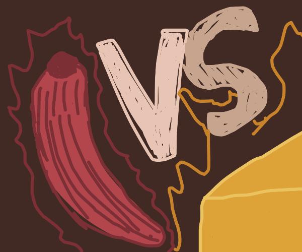 red hot chili vs sweet cheese