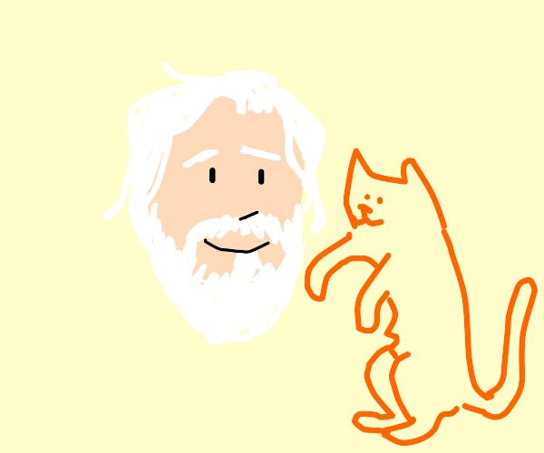 Bob the titan w/ his cute cat
