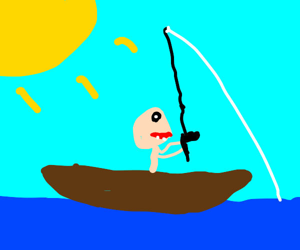 Fishing on a Boat