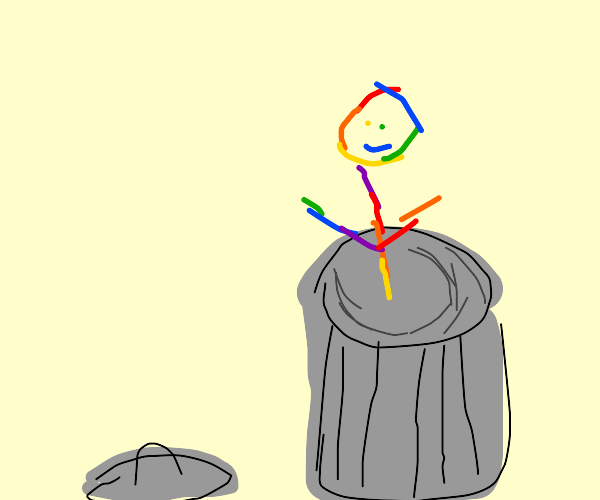 Colorful Garbageman