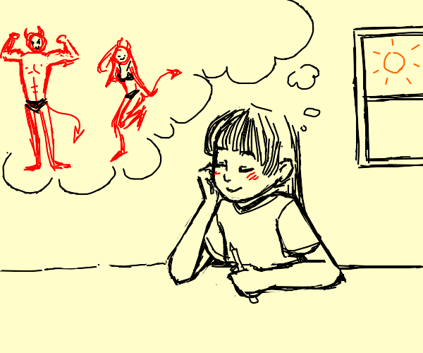 Daydreaming about demons