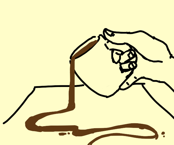 Drawing with a Cup