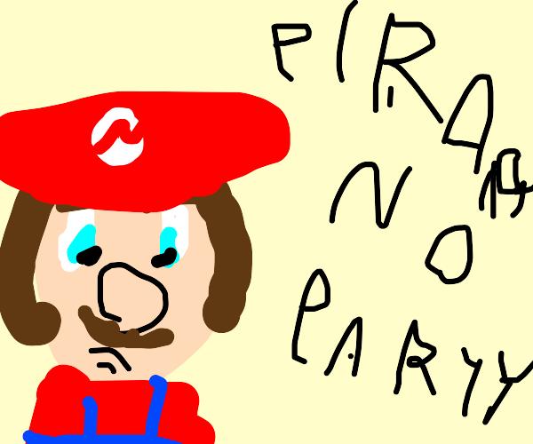mario party ds antipiracy screen