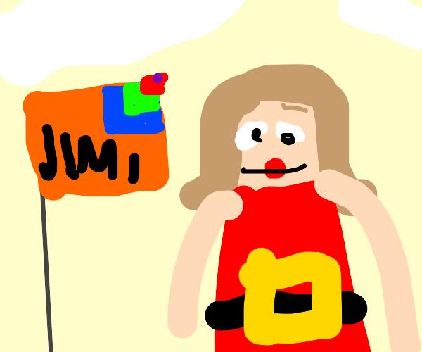 A weird flag