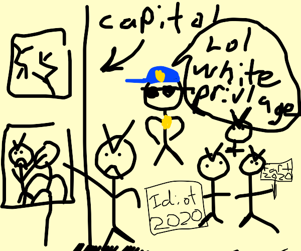 Riot in the Capitol.
