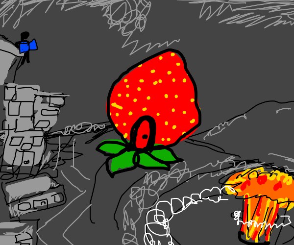 Strawberry Building in the Nuclear Apocalypse