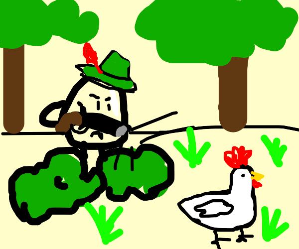 Humpty Dumpty Hunting