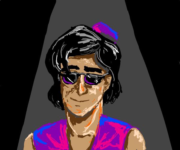 Aladdin in sunglasses