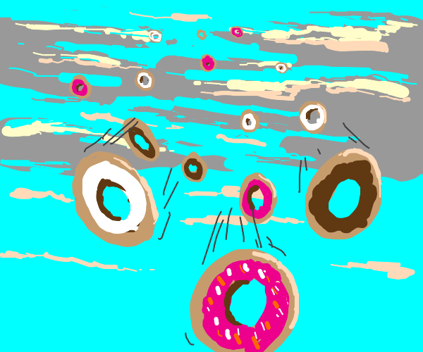 Cloudy with a Chance of Donuts