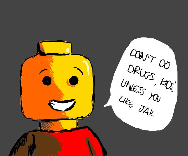 Lego man real talk
