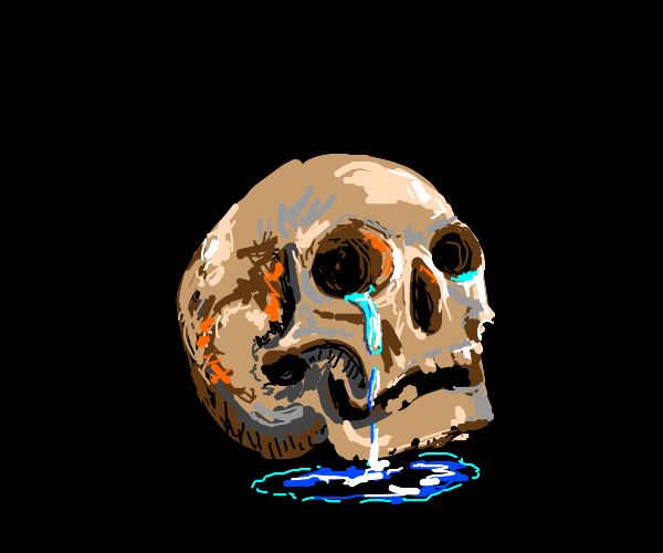 crying skull
