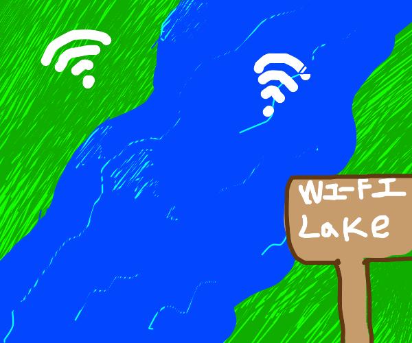 wifi lake
