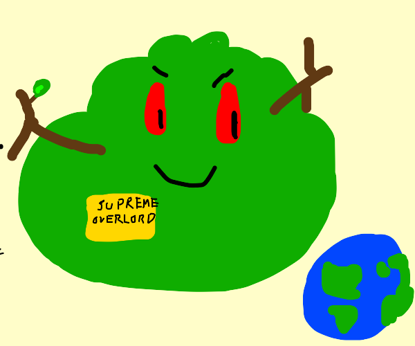 Evil Bush is Ready to Take Over the World