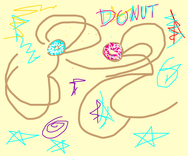 Comical Donut