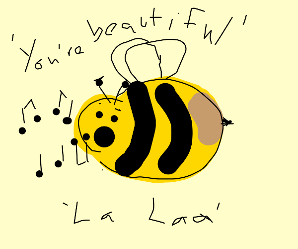 Bumblebee singing