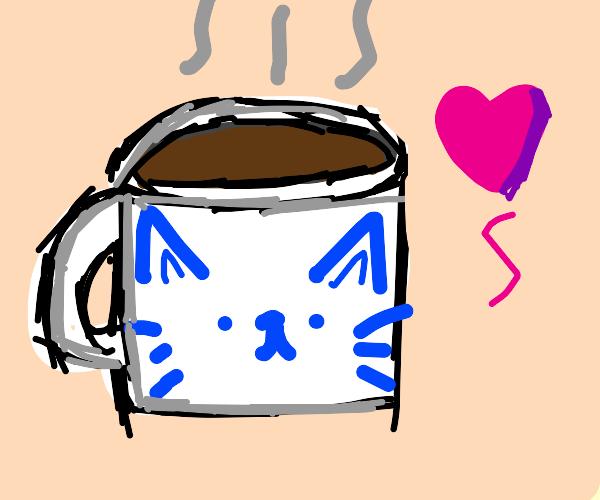 Cute chocolate mug owo