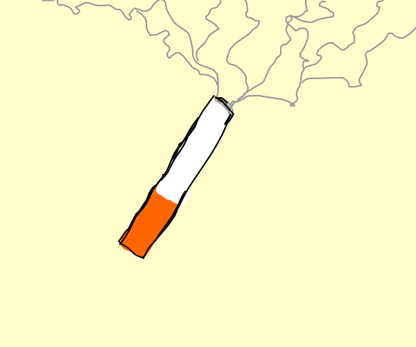 flaming tar inhaler (cigarette)