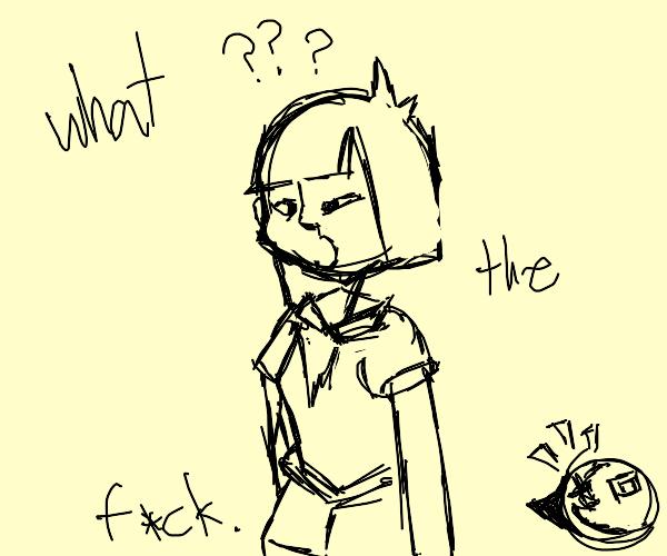 Confused Ena