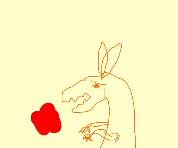 Kangaroo hates Pepper