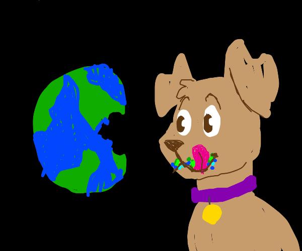 Dog eats world World