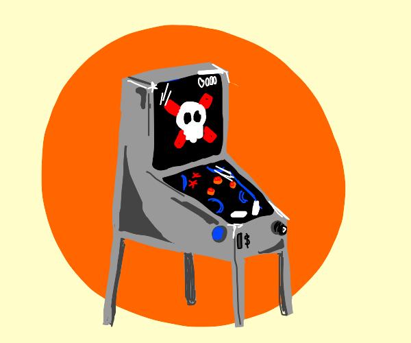 Pinball Machine Game Over