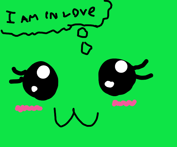 kawaii thinks she is in love