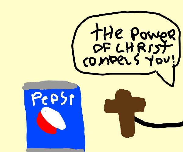 pepsi exorcism