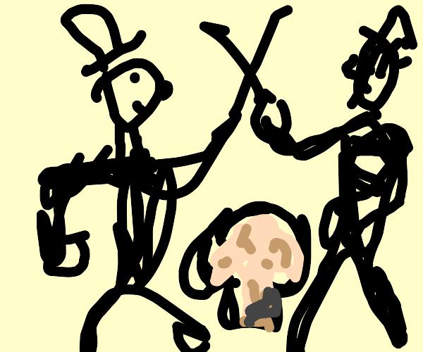 Duel on Mushroomfar