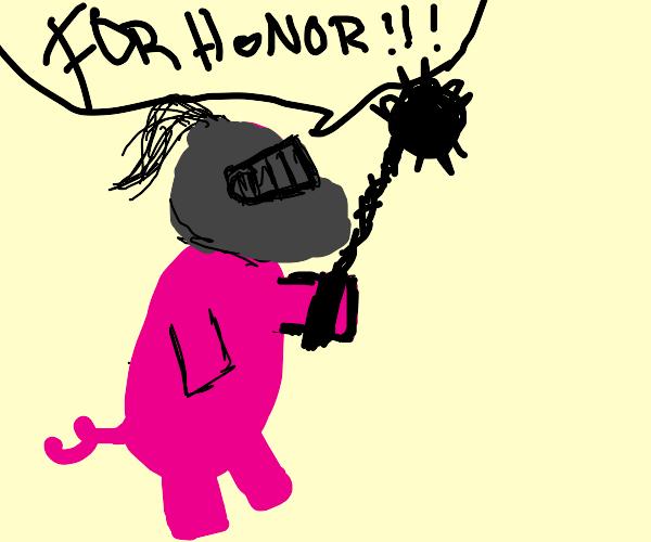 warrior pig