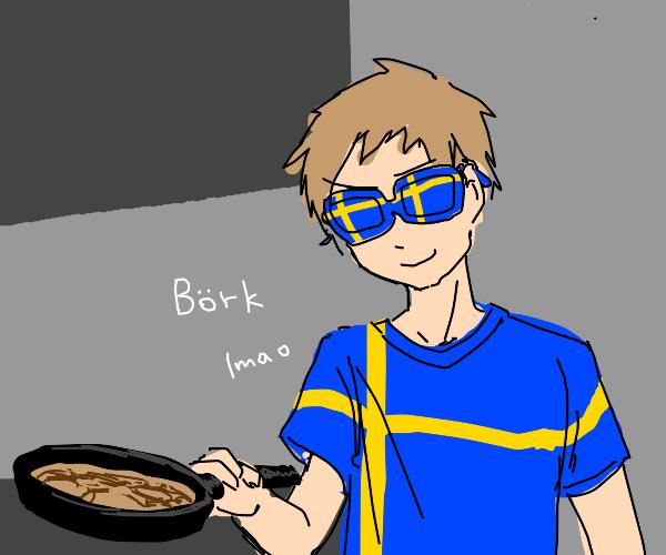 The swedish chef.